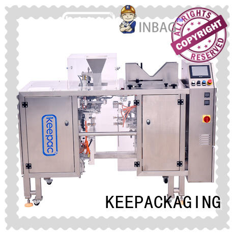 Keepac multi bag format small food packaging machine manufacturing for beverage
