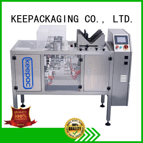 multi bag format candy packaging machine quick release for pre-openned zipper pouch Keepac