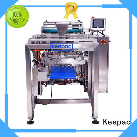 Keepac straight flow design automatic packing machine for business for zipper bag