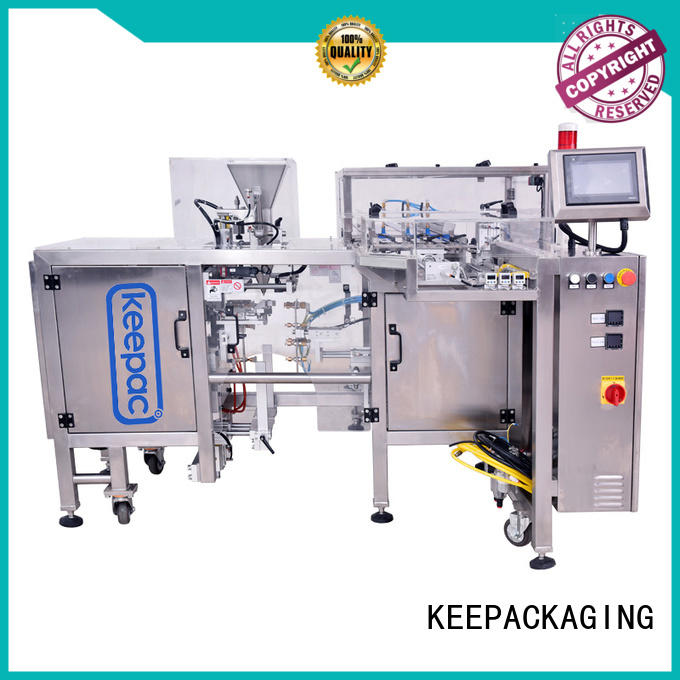 mini small food packaging machine customized for beverage Keepac