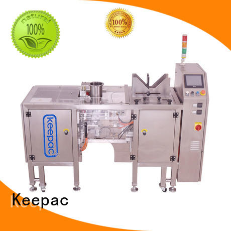 Keepac professional automatic grain packing machine customized for pre-openned zipper pouch