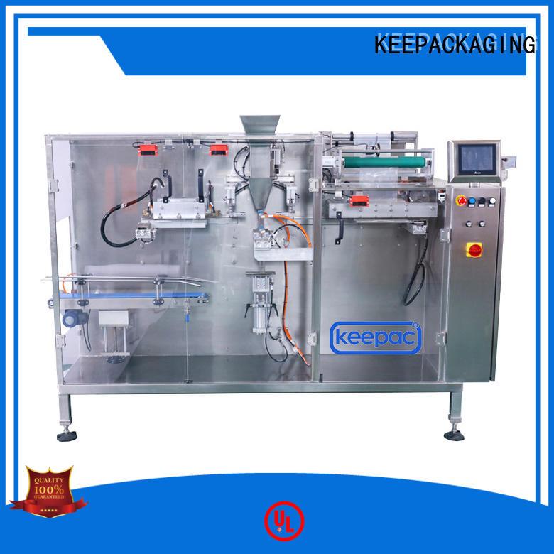 Keepac filler packaging machine design supplier for beverage