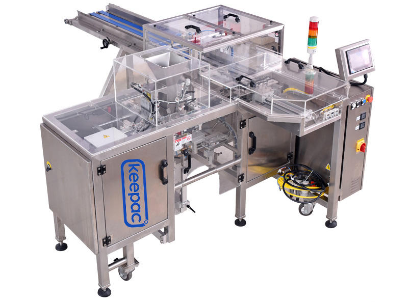 Keepac multi bag format food packaging machine customized for pre-openned zipper pouch-1