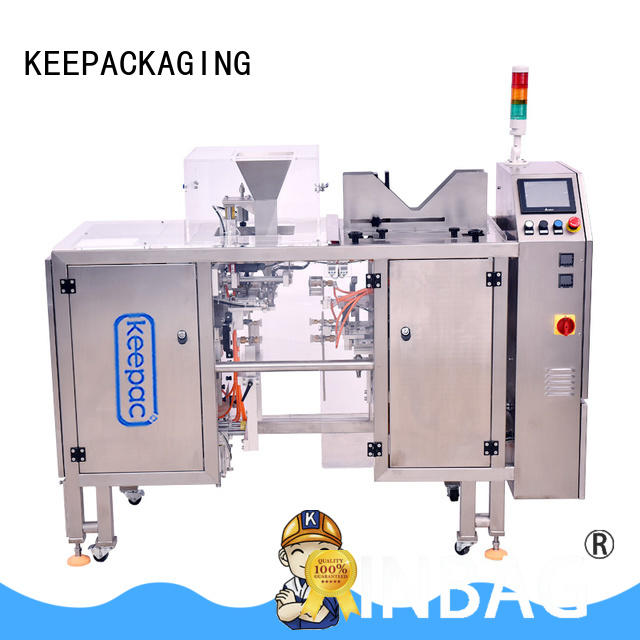 Keepac professional snack food packaging machine manufacturing for food