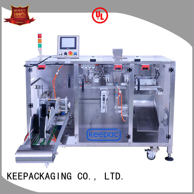 Latest pick fill seal machine staight flow design factory for zipper bag