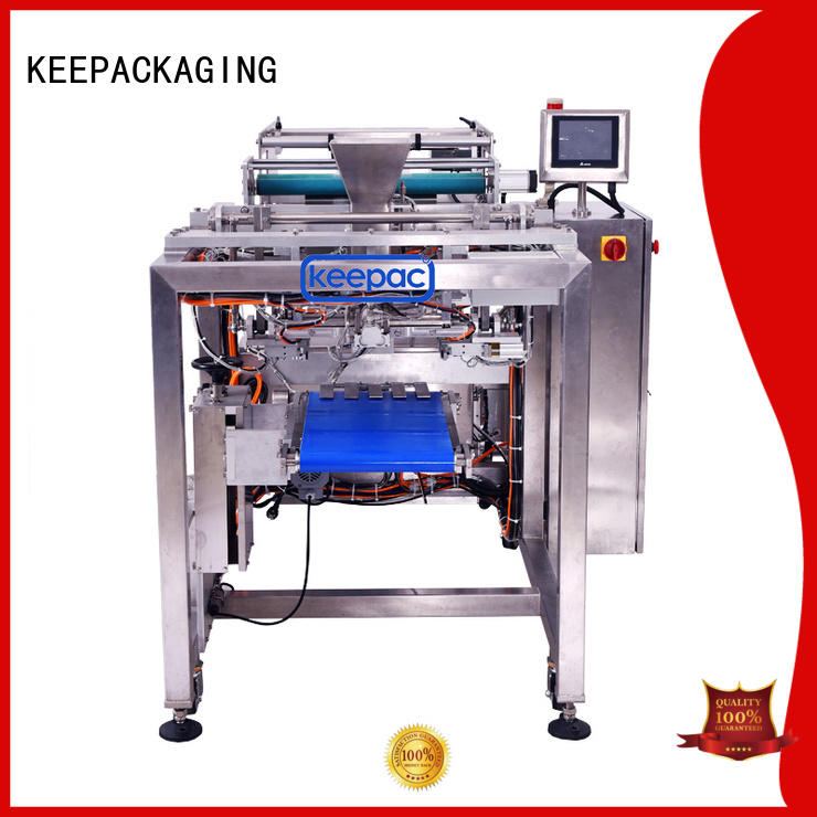 Keepac minitube auto packaging machine factory direct for food