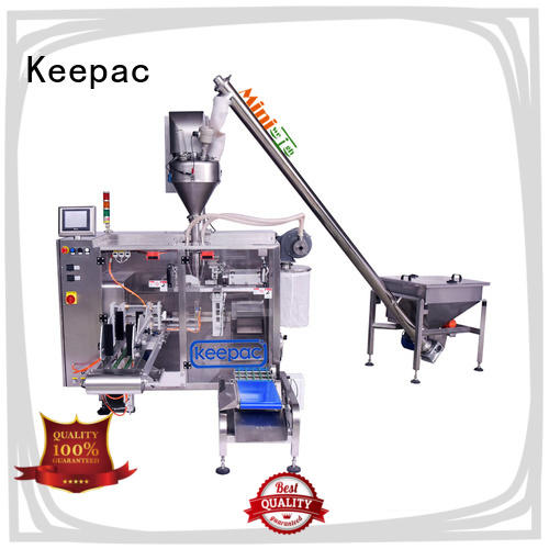 Keepac high quality sugar packing machine 8 inches for food