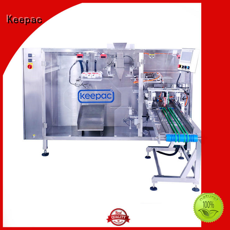 Keepac quick release automatic pouch packing machine supplier for standup bag