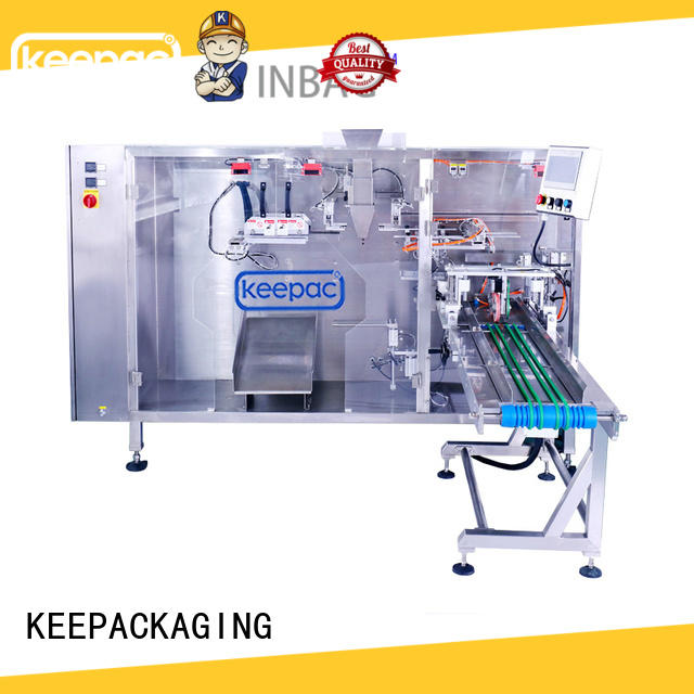 Top stand pouch packing machine 8 inches for business for 3 sides sealed pouch