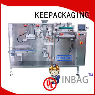 Keepac easy adjustable horizontal packaging machine company for food