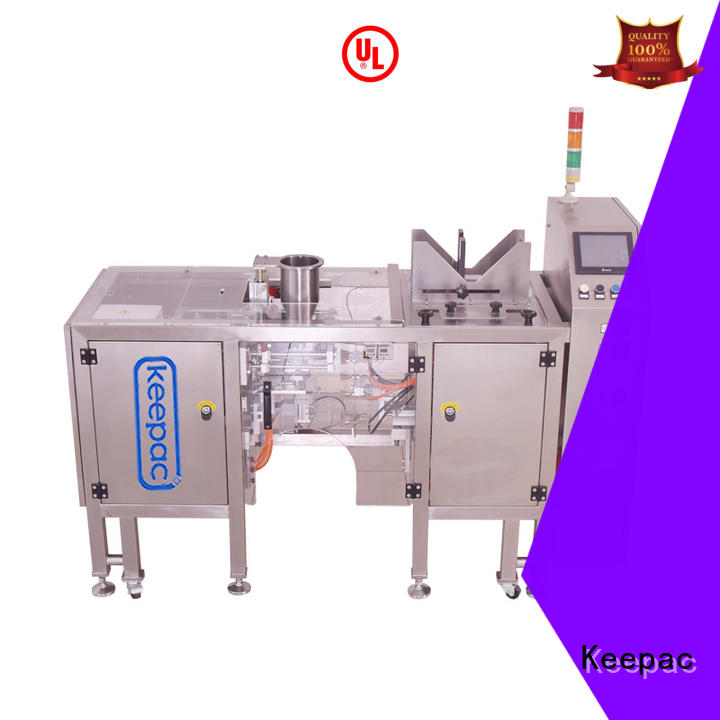 Keepac low cost automatic grain packing machine wholesale for beverage