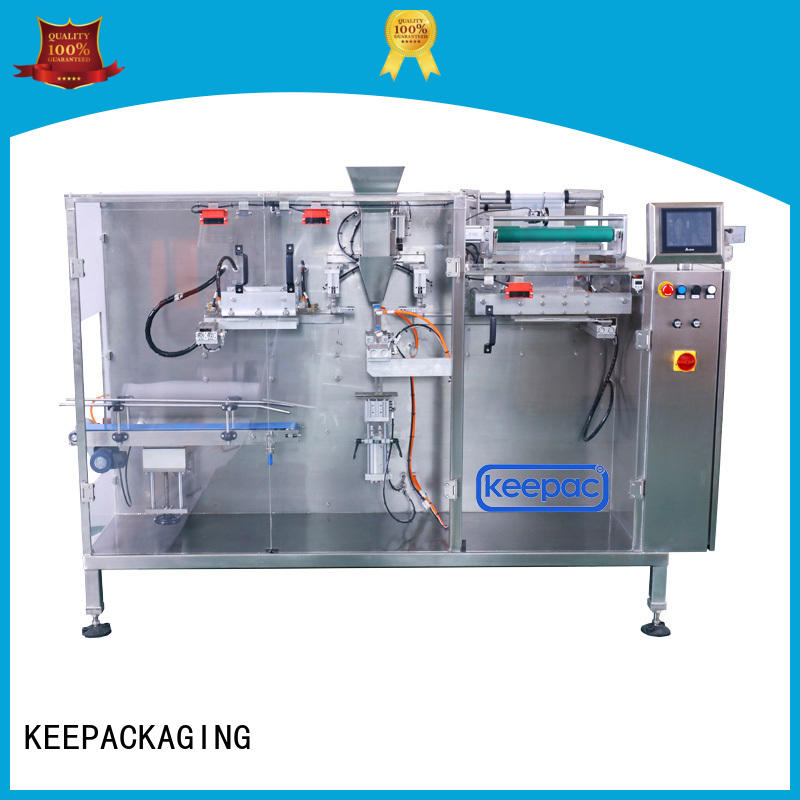 Keepac high quality horizontal packaging machine customized for beverage