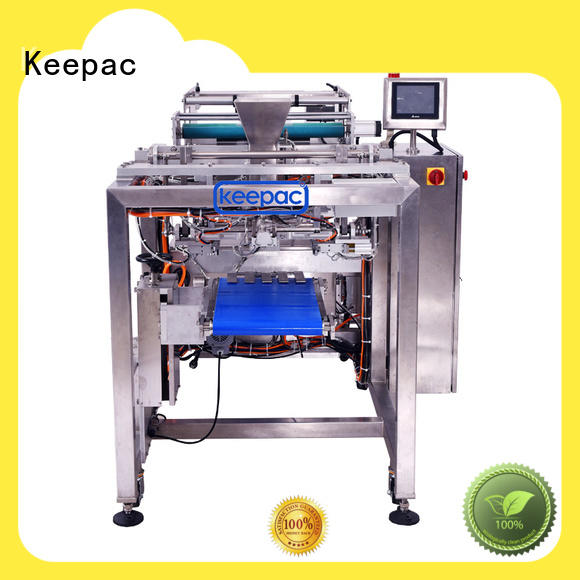 Keepac good quality automatic rice packing machine minitube for zipper bag