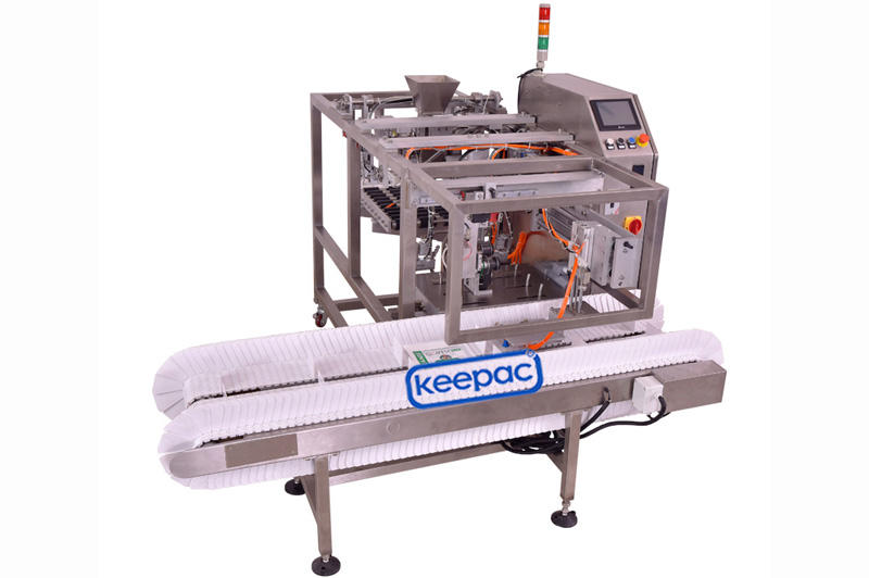 Keepac different sized grain packing machine manufacturing for pre-openned zipper pouch-1