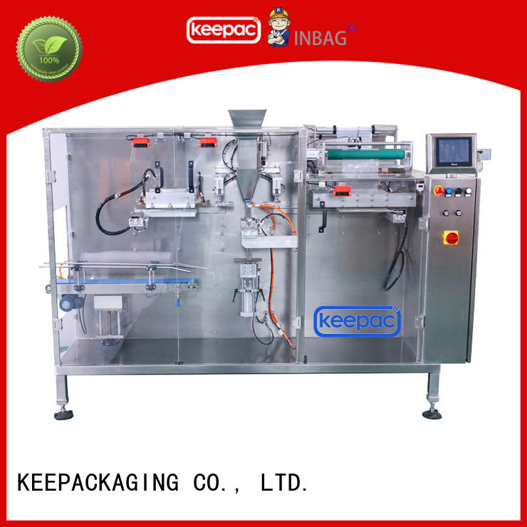 safe automatic chips packing machine spout customized for beverage
