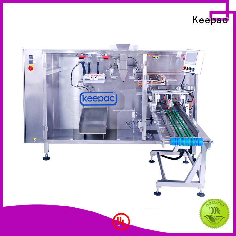 Keepac 8 inches juice pouch packing machine wholesale for standup bag
