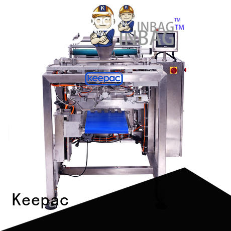 Keepac easy running automatic packing machine manufacturing for zipper bag