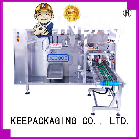 Keepac durable rusk packing machine 8 inches for 3 sides sealed pouch