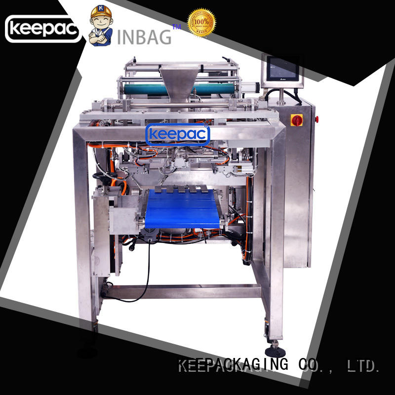 Keepac good quality automatic packing machine PE tubular for standup pouch
