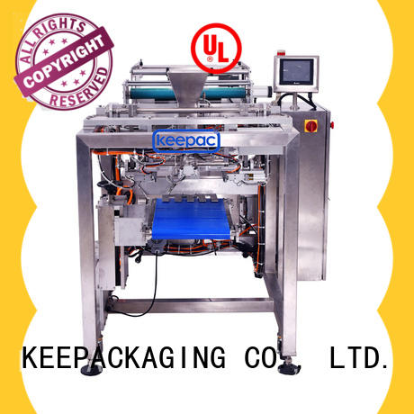 Keepac New sealing jaws packaging machines factory for food