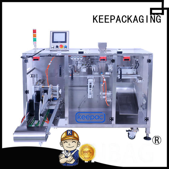 Keepac 8 inches pick fill seal machine design for food