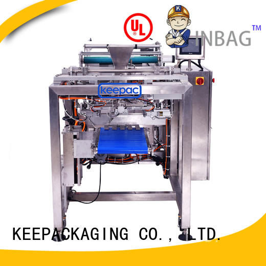 Keepac easy running automatic packing machine company for standup pouch