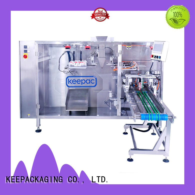 heavy duty rusk packing machine manufacturer for zipper bag Keepac