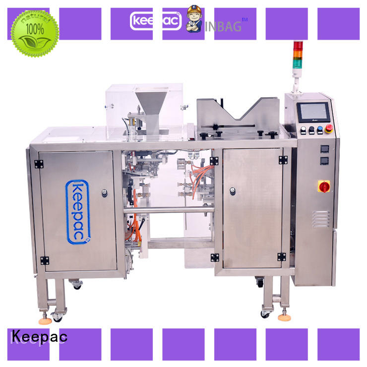 Keepac multi bag format grain packing machine Supply for pre-openned zipper pouch