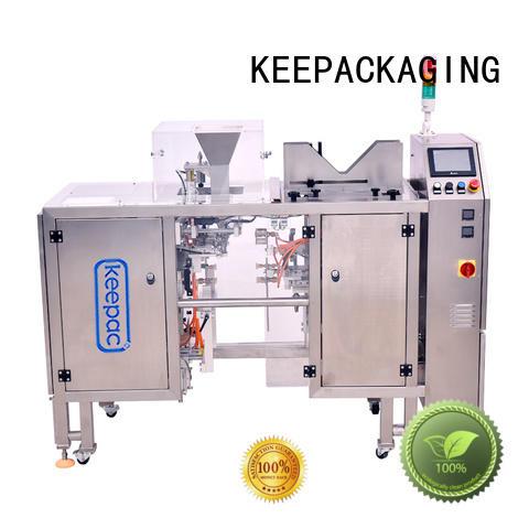 Keepac multi bag format food packaging machine customized for food