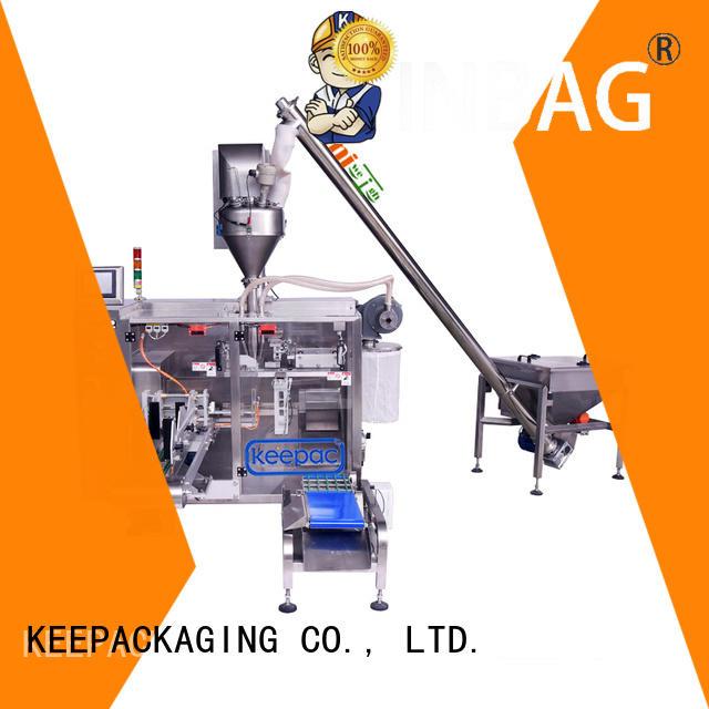 duplex powder pouch packing machine supplier for zipper bag Keepac
