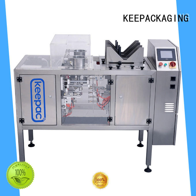 Keepac mini chips packaging machine customized for beverage