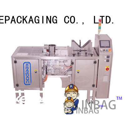 Keepac Custom mini doypack machine for business for food