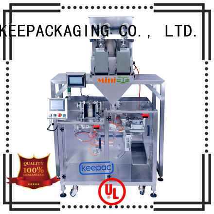 Keepac high quality milk powder packing machine manufacturer for zipper bag