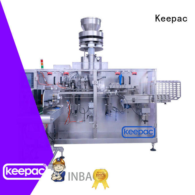 Keepac easy adjustable dry food packing machine supplier for beverage