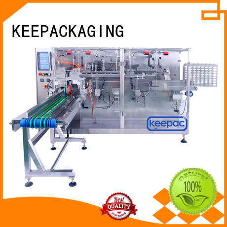 automatic horizontal packaging machine easy adjustable supplier for food