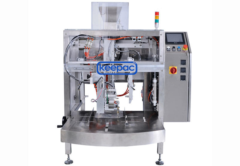 efficient snack food packaging machine mini customized for food-1
