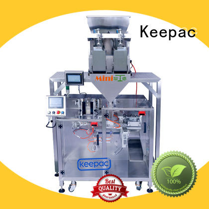 Keepac convenient form fill seal machine manufacturer for standup pouch