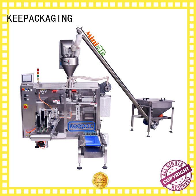 convenient powder packing machine linear supplier for zipper bag