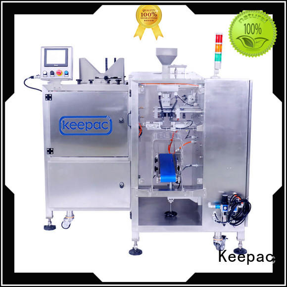Keepac low cost snack food packaging machine factory direct for pre-openned zipper pouch