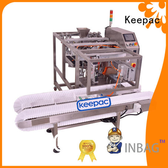 Keepac stainless steel 304 mini doypack machine factory direct for beverage