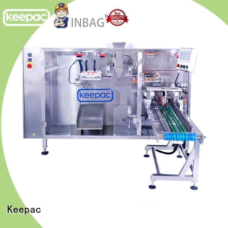 Keepac 8 inches liquid pouch packing machine wholesale for zipper bag
