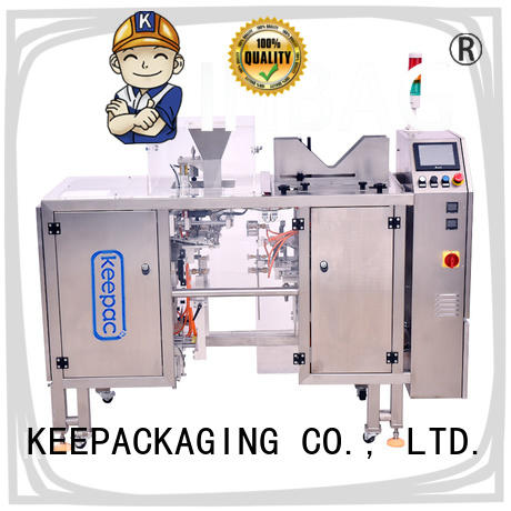 Keepac different sized chips packaging machine wholesale for pre-openned zipper pouch