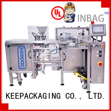 Keepac stainless steel 304 snack food packaging machine company for beverage
