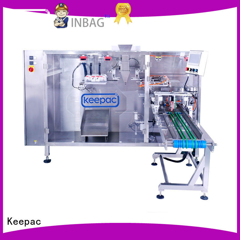Keepac quick release pouch packing machine supplier for standup bag