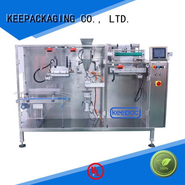 Keepac cup dry food packing machine supplier for commodity