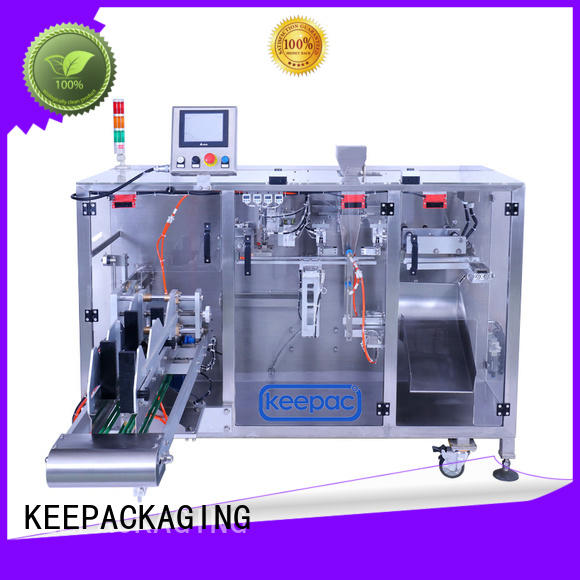 Keepac efficient horizontal form fill seal machine wholesale for zipper bag