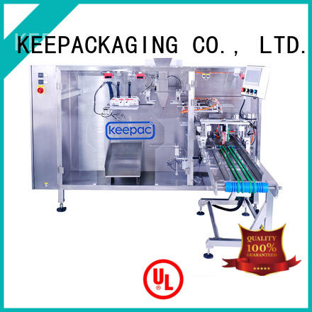 Best stand up pouch packing machine straight flow design Suppliers for 3 sides sealed pouch