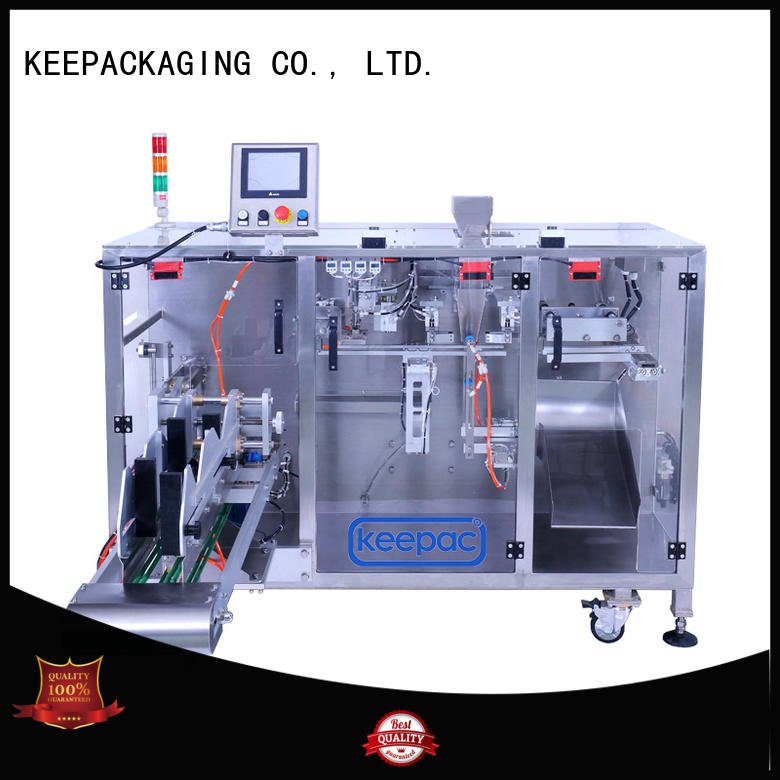 convenient form fill seal machine 8 inches design for standup pouch