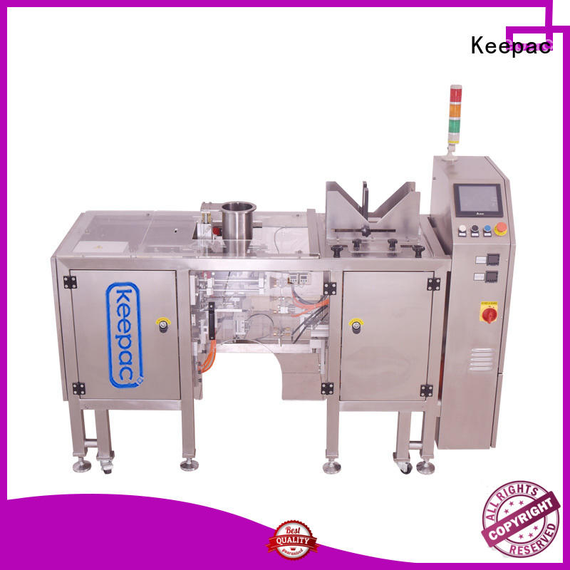 Keepac Wholesale small food packaging machine manufacturers for pre-openned zipper pouch