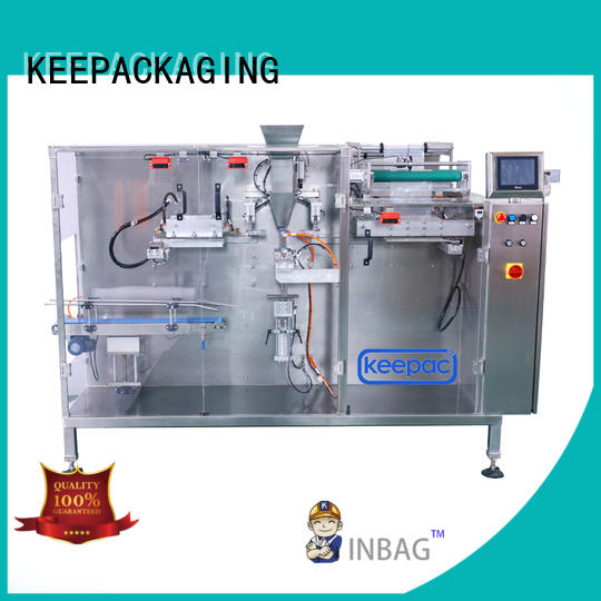 Keepac pouch automatic tea packing machine customized for commodity